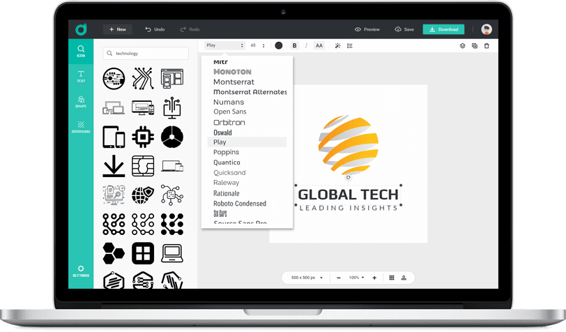 Best Online Custom Logo Maker : DesignEvo