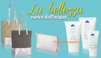 Logo Con Donna Moderna e il Set di Bellezza Aquaria Thermal Cosmetics vinci soggiorni sul Garda
