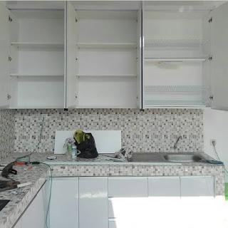 Proyek Kitchen Set Pak Munawar