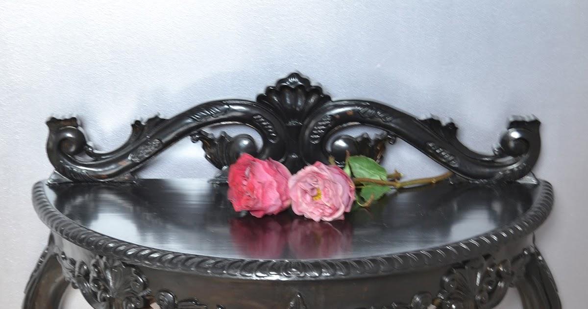 Brocante Sidetable Zwart.Joy Home Living Soap Gifts Barok Sidetable Stoel Nieuw
