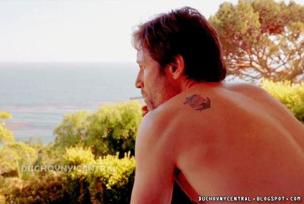 hank moody tattoo