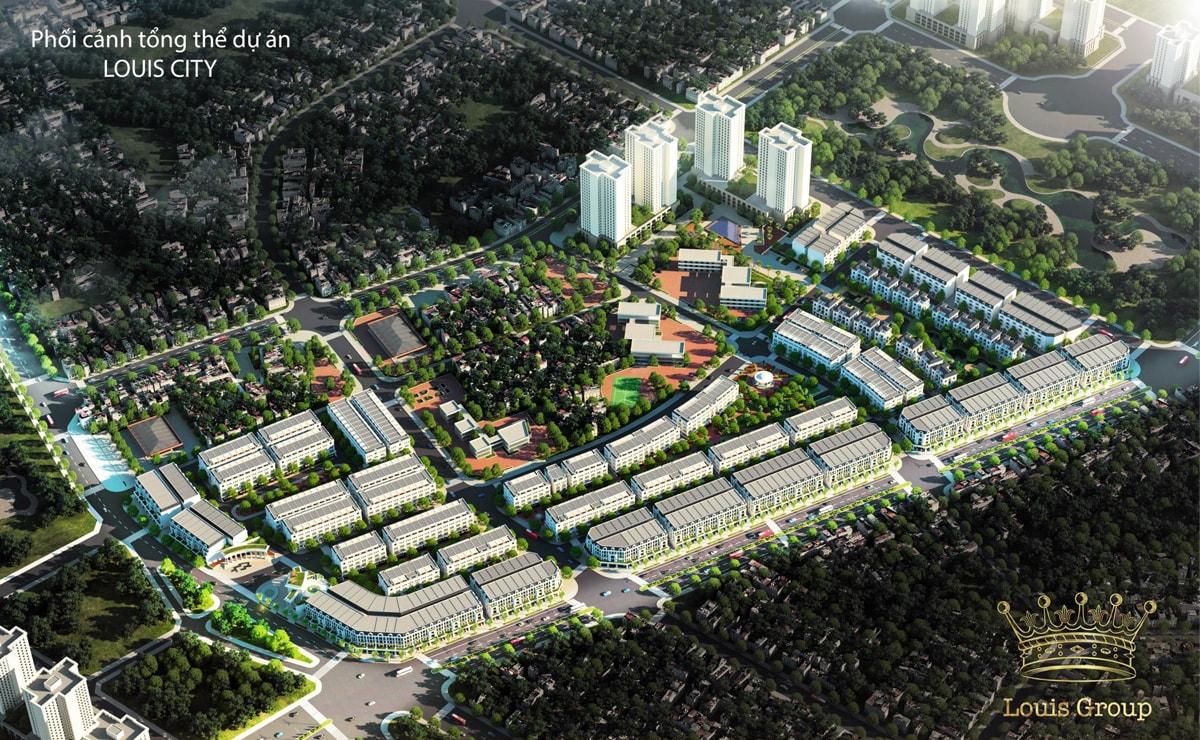 Phối cảnh dự án Louis City