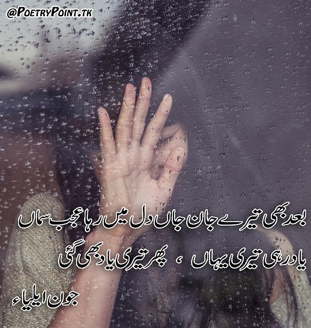 Bad Bhe Tere Jaan e Jaa Dil Me Raha Ajeeeb Sama // John Elia Poetry