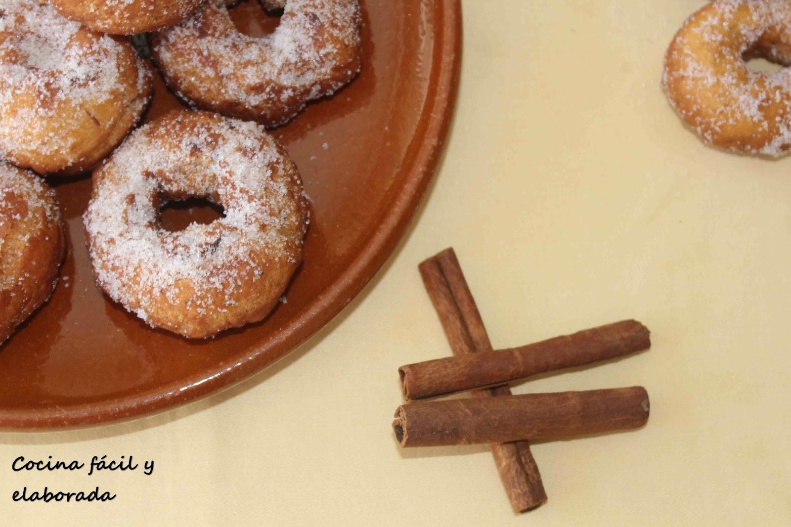 Cocina facil y elaborada rosquillas de anis receta casera for Cocina casera facil y economica