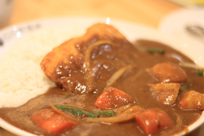 coco ichibanya curry chicken cutlet and vegetables | japobsganbare.blogspot.co.id