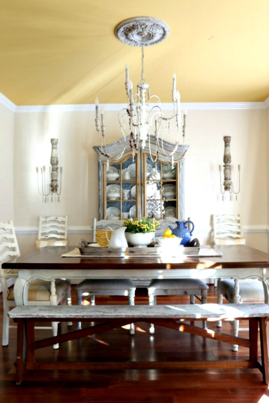 Savvy Southern Style The Dining Room Sconces