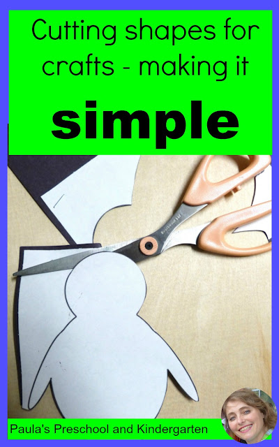 Two simple and easy ways to cut out multiple shapes for craft projects!