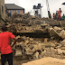 A storey building collapsed in Imo state in Nigeria.