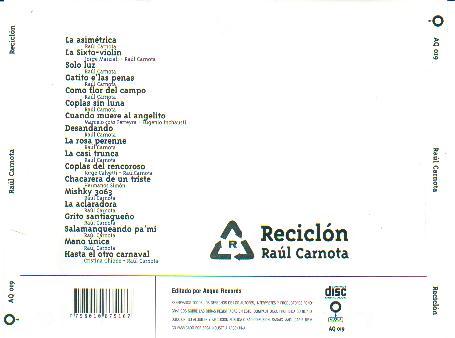 raul carnota reciclon descargar gratis discografia