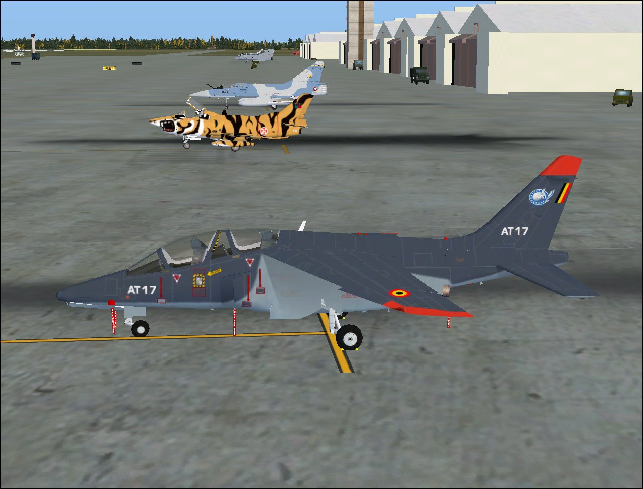 airjorge fotos flight simulation fiat g 91 tiger meet. Black Bedroom Furniture Sets. Home Design Ideas