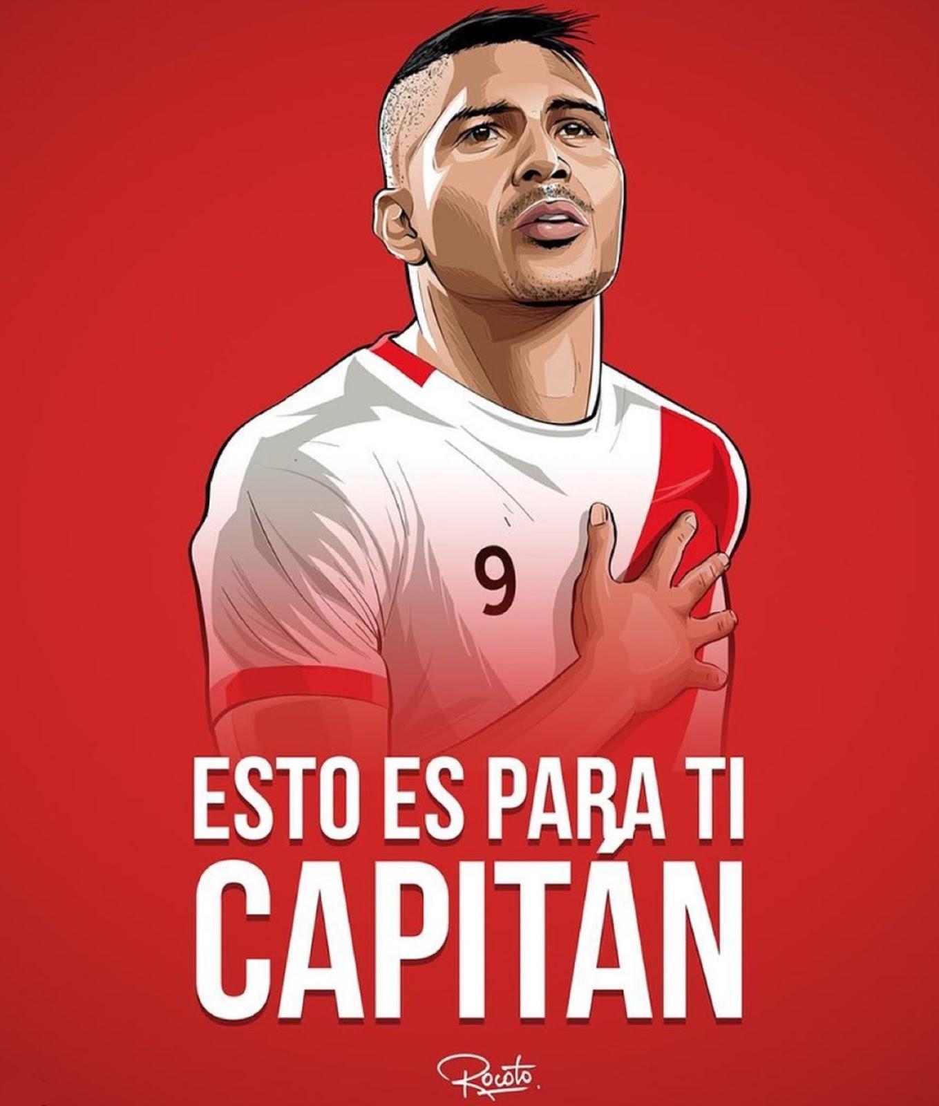Guerrero, capitano del Perù | numerosette.eu