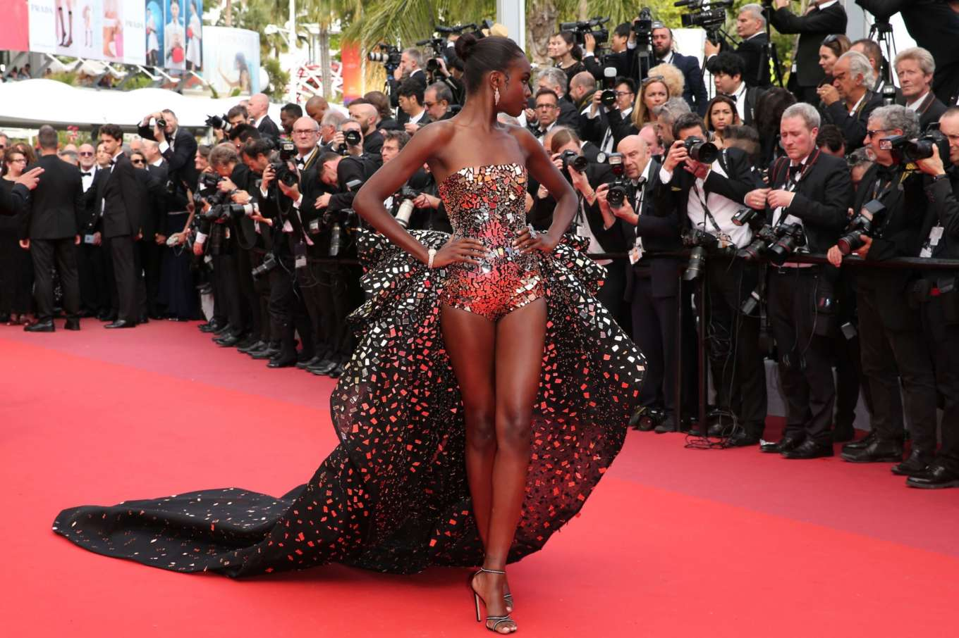 Leomie Anderson – 'Once Upon A Time In Hollywood' Premiere at 2019 Cannes Film Festival