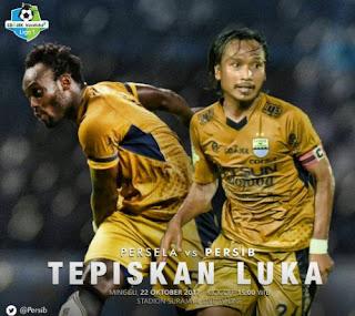 Persib Bandung Antisipasi Kecepatan Pemain Persela Lamongan