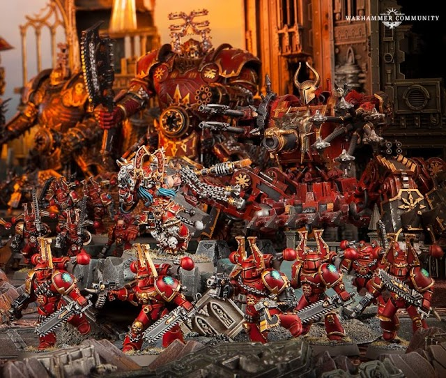 Chaos Marine Preview: The World Eaters