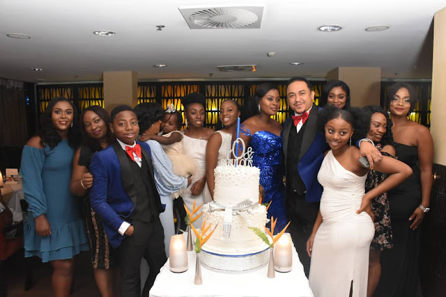 Daddy Freeze celebrates his wife Benedicta, the First Lady of the FreeNation in Christ as she turns 40