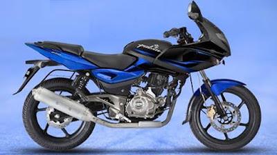 Bajaj Pulsar 220 Black & Blue Shade