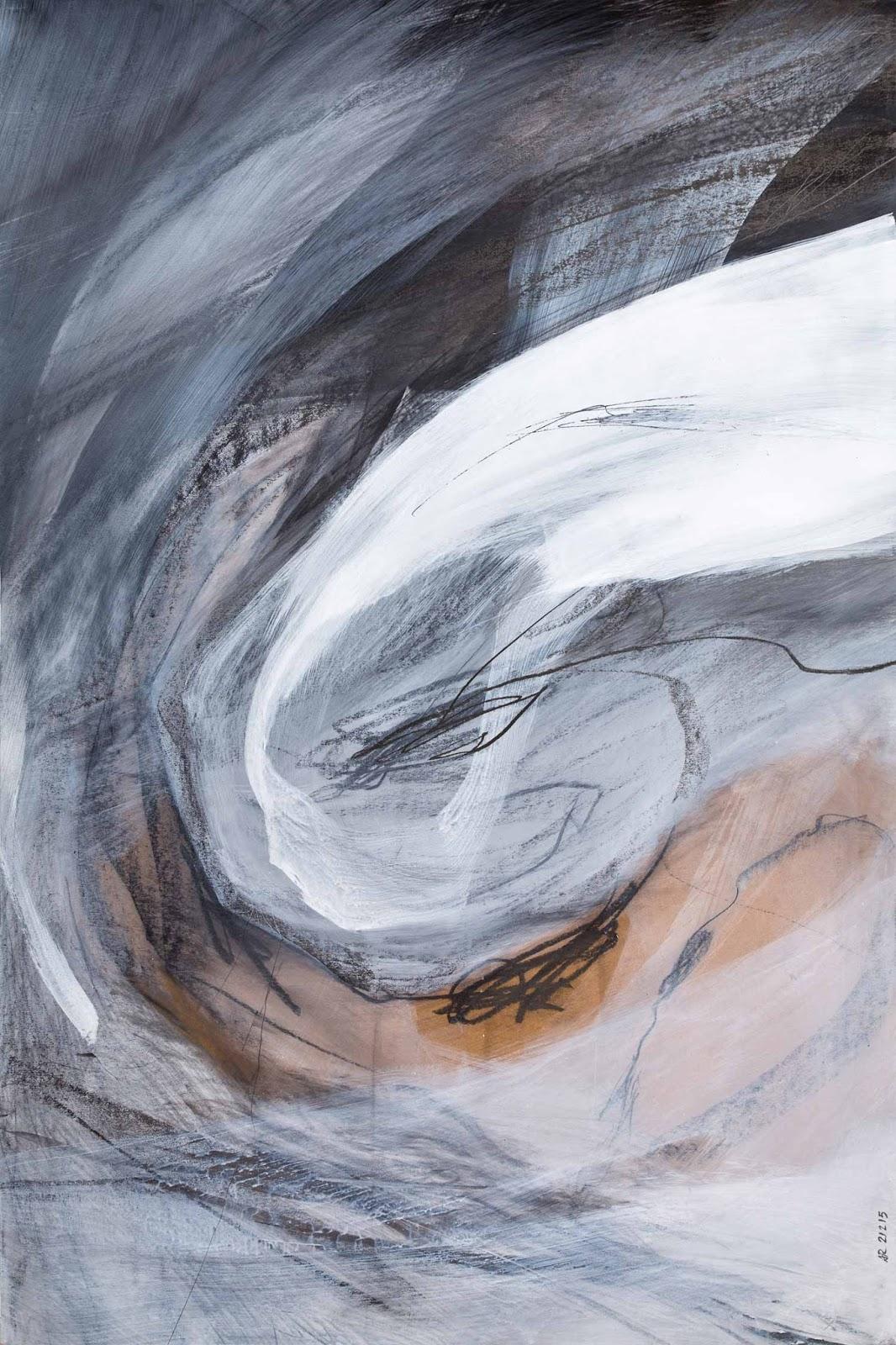 80 x 120 cm, acrylique et graphite sur papier kraft, 21 février 15