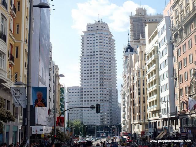 torre españa madrid