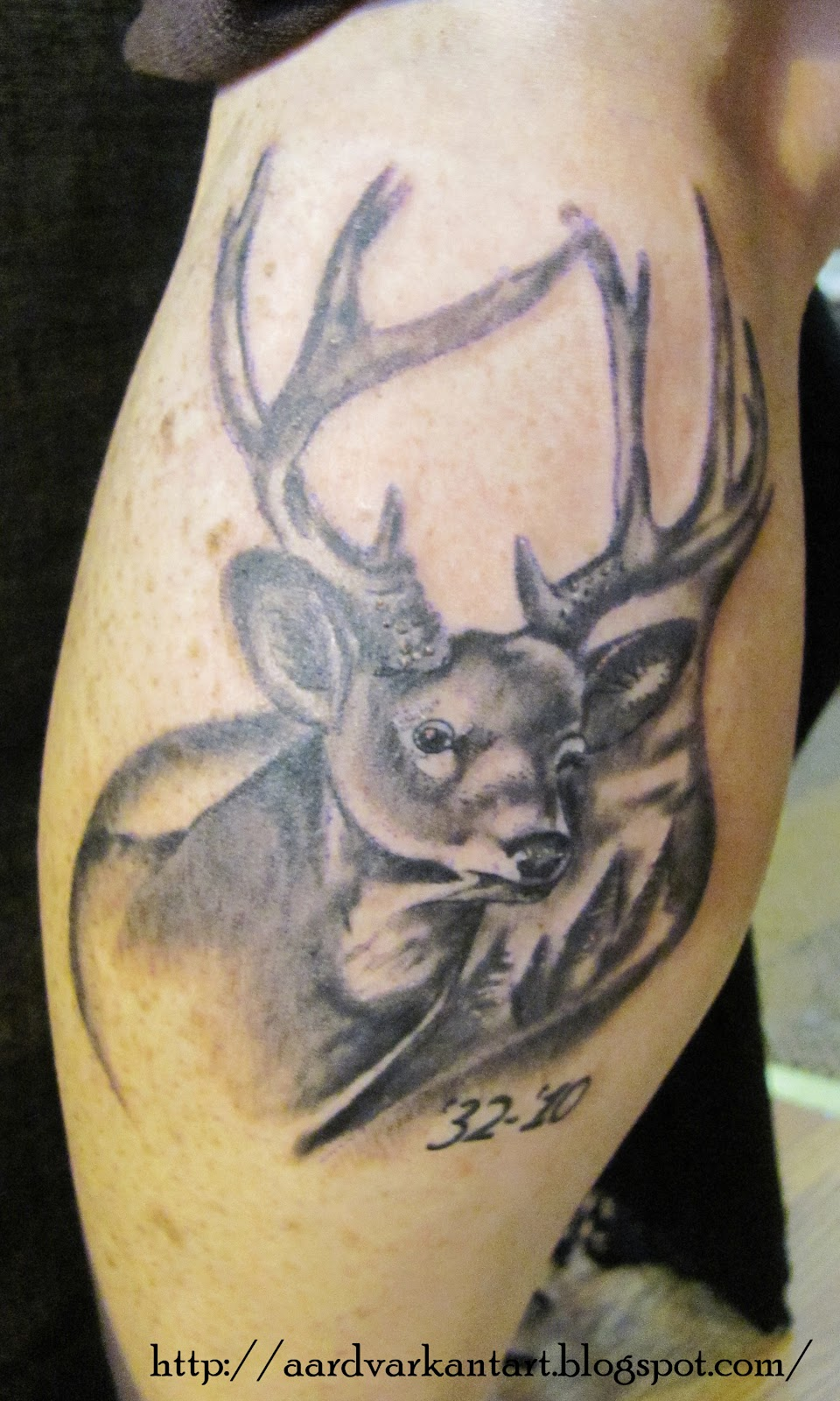 def58bbb3 Deer Calf Tattoo Jackalope Tattoo Claddagh Tattoo Navy Diver Helmet