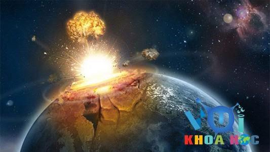 Thiên thạch rơi vào trái đất