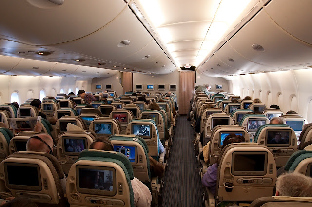 Singapore Airlines A380 800 Economy Class Seat