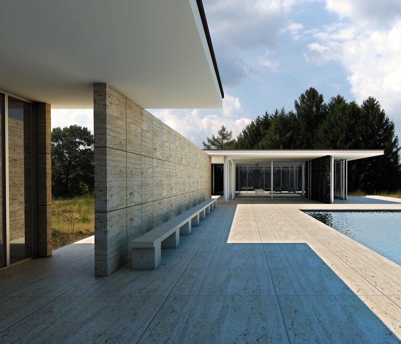BCNproyecto Ludwig Mies van der Rohe