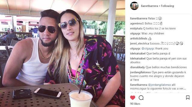 Yulieski Gurriel, entonces, se está tomando unas vacaciones, mientras se relaja y se recupera, con su esposa Lianet