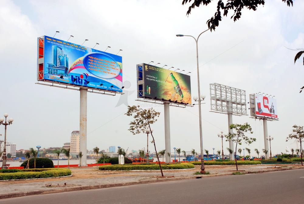 Thi công biển quảng cáo ngoài trời tại Phú Quốc