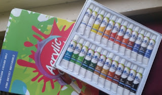 Acrylic Paint Set 1