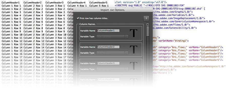 Illustrator – Introducing the VariableImporter Script