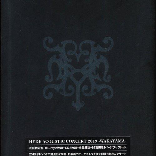 HYDE - HYDE ACOUSTIC CONCERT 2019 KUROMISA BIRTHDAY -WAKAYAMA- [Blu-Ray ISO]