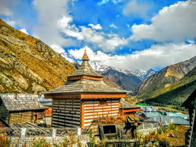 Chitkul - the last village on the Hindustan-Tibet highway