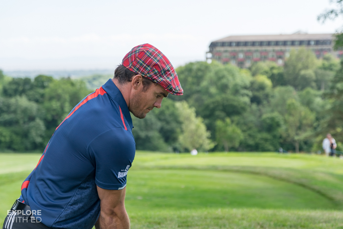 Max Evans at The Celebrity Cup