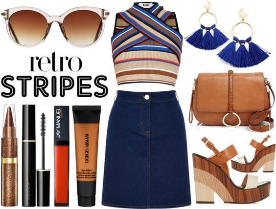 Retro Stripes www.toyastales.blogspot.com #ToyasTales