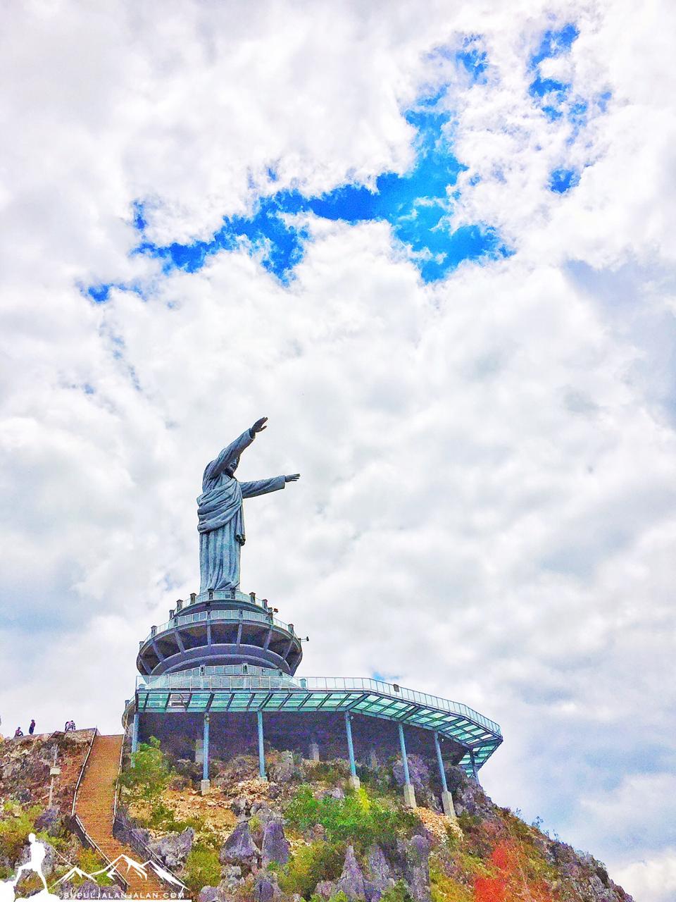 ternyata patung yesus tertinggi di dunia itu ada di indonesia ternyata patung yesus tertinggi di