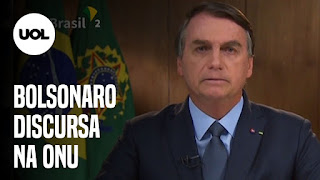 Bolsonaro discursa na ONU e fala sobre coronavírus queimadas