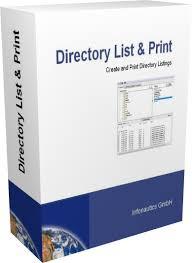 Directory List & Print Portable