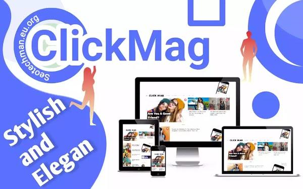 [Free Download] Click Mag - Template WordPress v3.1.0