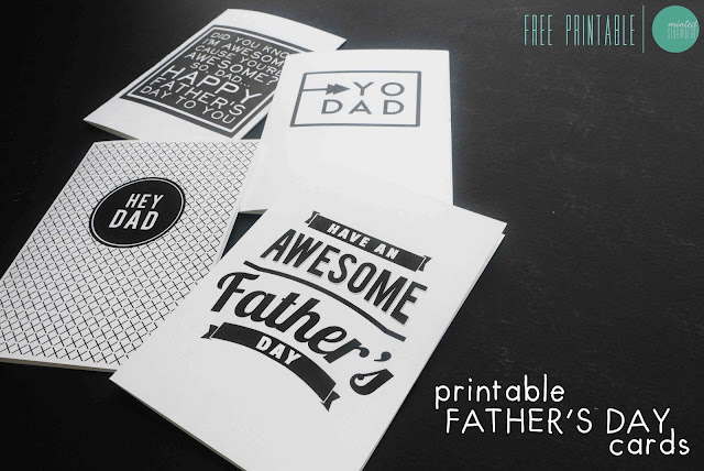 different printables for fathers day cards