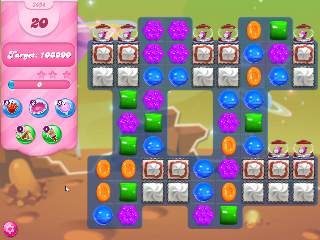 Candy Crush Saga level 3494
