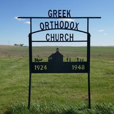 church, Maple Creek, Saskatchewan, Greek Orthodox, pioneer