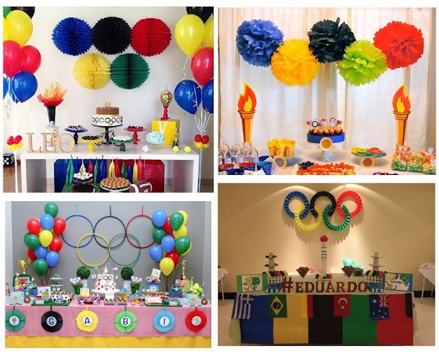 aniversario-infantil-com-o-tema-das-olimpiadas-arcos-olimpicos