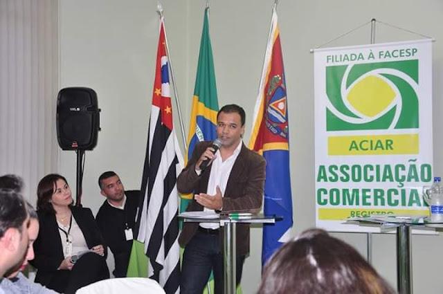 Empresário Roger da Infovale destaca a importância da Campanha Show de Prêmios da Aciar