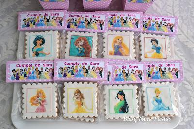 kit cumpleaños princesas  Disney