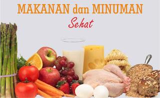 manfaat makanan dan minuman sehat