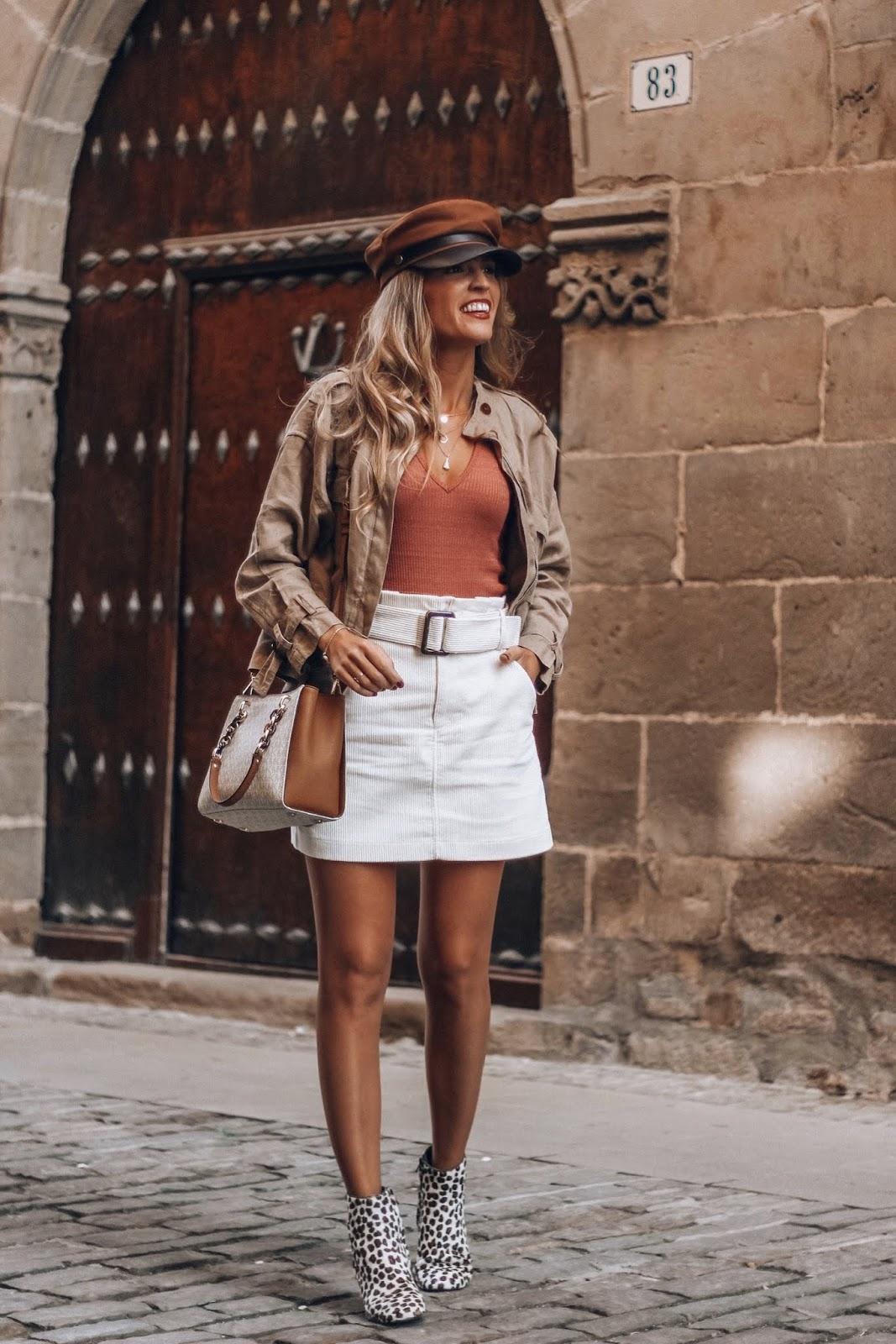 tendencia falda de pana