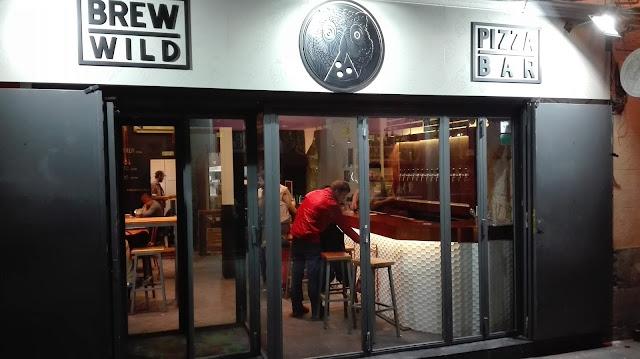 BREW WILD PIZZA BAR, fachada