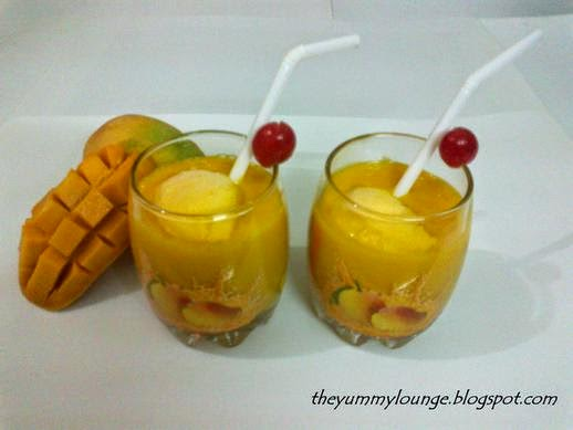 How to make Mango Milk Shake Recipe