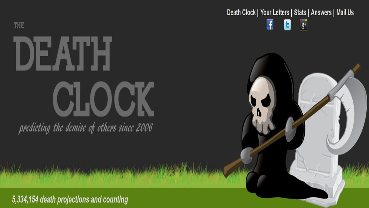 Death Clocks: How Long Have I Got? | Bioethics Research Library