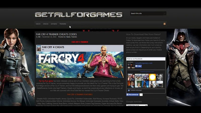 far cry 4 console commands